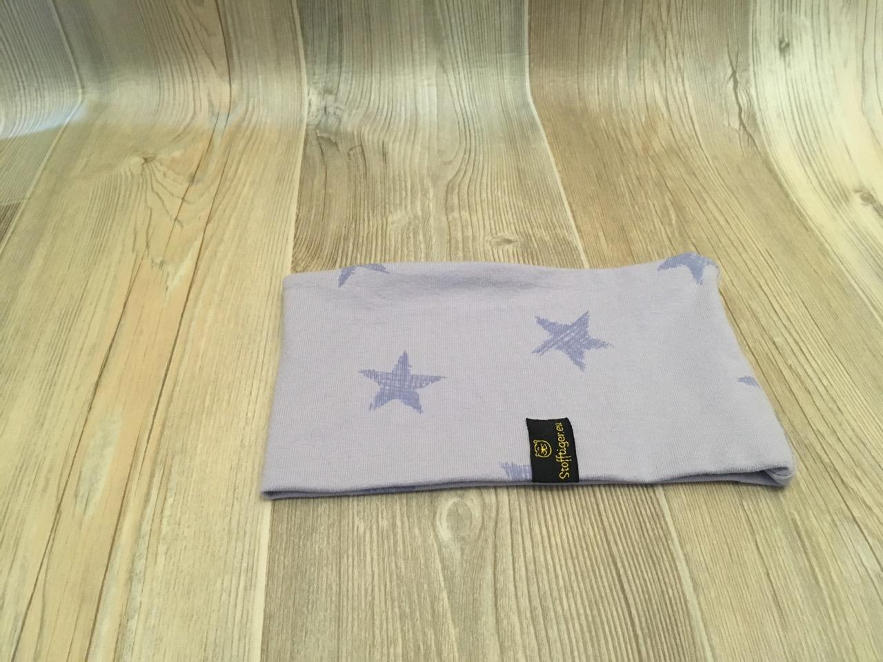 Stirnband Violett Sterne